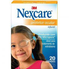 Protetor Ocular Nexcare Infantíl 20 unidades