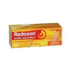 Redoxon 1 G com 10 Comprimidos Efervescente Laranja