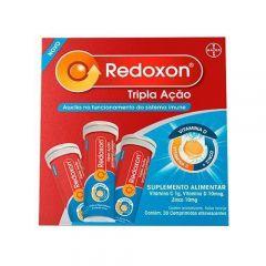 Redoxon Tripla Ação Com 30 Comprimidos Efervecentes