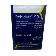 Rehidrat 90 com 4 envelopes de pó para solução de uso oral