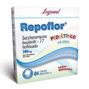 Repoflor Pediátrico 1g  4 Sachês - Legrand