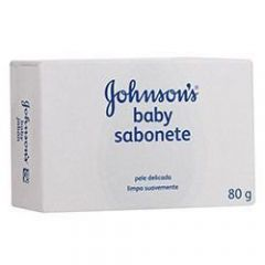 Sabonete Infantil Pele delicada 80g Johnson's