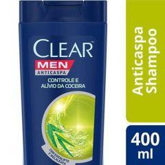 Shampoo Clear Anticaspa Controle Coceira 400ml