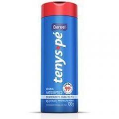 Talco desodorante para os pés tenys pé baruel original com 100 gramas