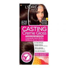 Tintura Casting Creme Gloss L'Oréal - Nº 300 Castanho Escuro