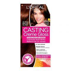 Tintura Casting Creme Gloss L'Oréal - Nº 500 Castanho Claro