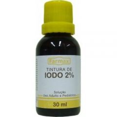 Tintura de Iodo Farmax 30ml