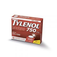 Tylenol 750Mg 10Cp