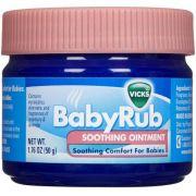 Vick Babyrub Balsamo Para Bebes 50G