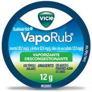 Vick vaporub pomada com 12 gramas