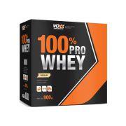 Voxx 100% Pro Whey Protein com 900g Sabor Baunilha
