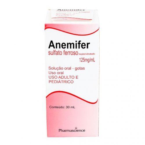 Anemifer 25 Mg/ml Gotas 30 Ml