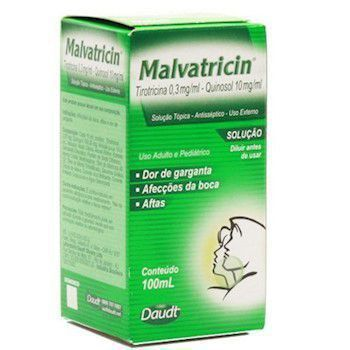 Antisséptico Bucal Malvatricin 100ml