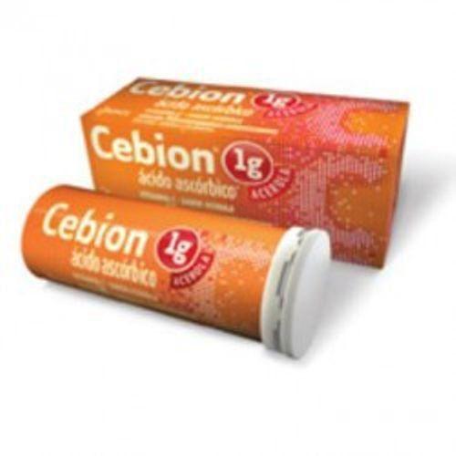 Cebion  Acerola 1g com 10 Comprimidos Efervescentes Merck