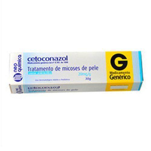 Cetoconazol 20mg/g Creme 30g