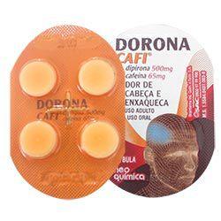 Dorona cafi 4 comprimidos