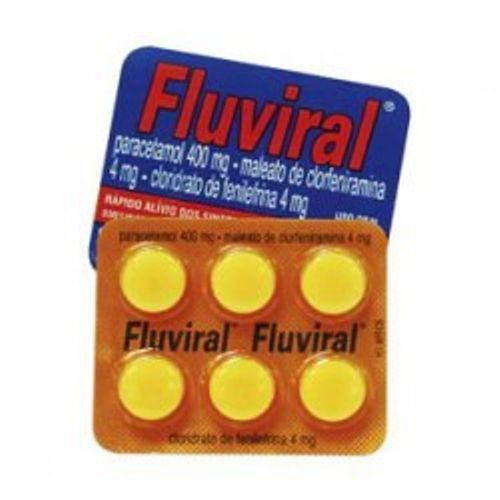 Fluviral - 6 Comprimidos