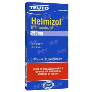 Helmizol 250 Mg/ 20 Cápsulas Teuto