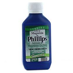 Leite de magnésia phillips hortelã com 120 ml