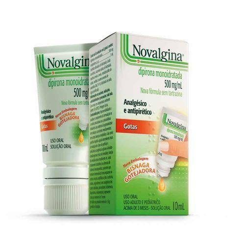 Novalgina Gotas 500mg/ml Sanofi Aventis 10ml