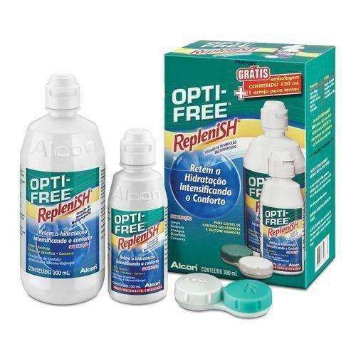 Opti-Free Replenish com 300ml