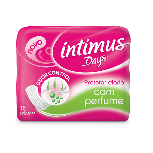 Protetor Diário Intimus Days Sem Abas Com Perfume