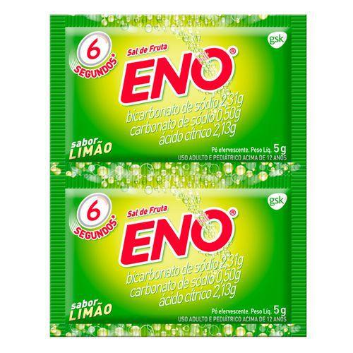 Sal de Fruta Eno Limão 5g com 2 Envelopes