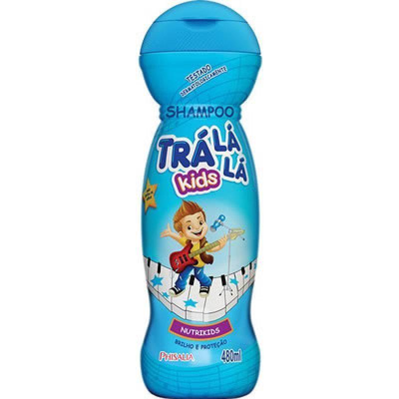 Shampoo Tra La La Nutrikids com 480 Ml