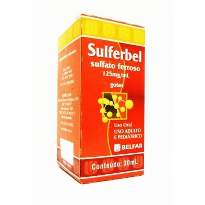 Sulferbel 125 Mg/ml Gotas 30 Ml