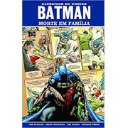 Batman 70 Anos: Morte Em Família - Capa Dura - Dc Comics