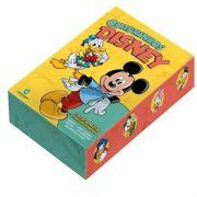 Box Quadrinhos Disney - Edição 0 - 5 Volumes + Cartela De Adesivos