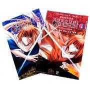 Coleção Rurouni Kenshin - Volume Versão do Autor 1 e 2,