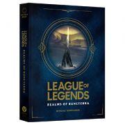 League Of Legends - Reinos De Runeterra Lacrado capa dura.