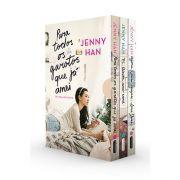 Box Livro - Trilogia Para todos os garotos que já amei Box com os 3 volumes da trilogia