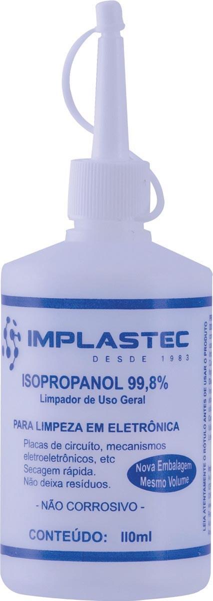Alcool Isopropilico 110ML com Bico Aplicador