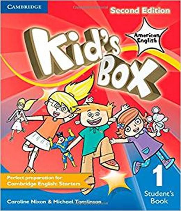 American KIDS BOX 1 - Students Book - 02 ED