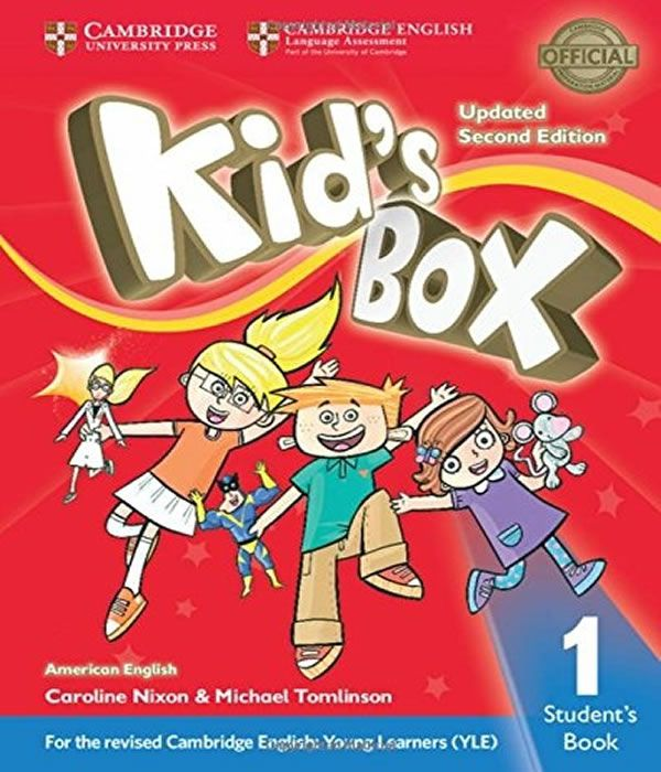 American Kids Box 1 - Students Book Updated - 02 Ed