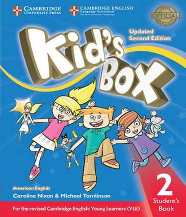 American Kids Box 2 - Students Book Updated - 02 Ed