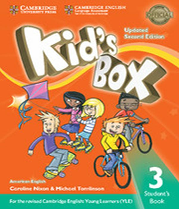 American Kids Box 3 - Students Book Updated - 02 Ed