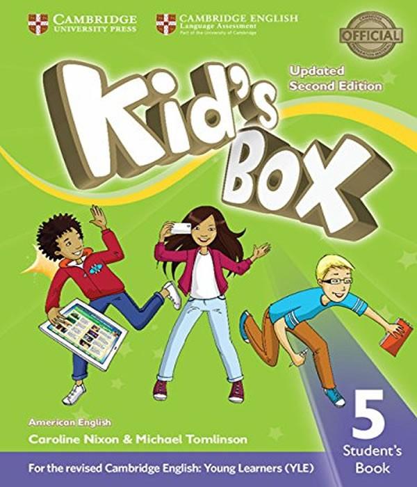 American KIDS BOX Level 5 - Students Book
