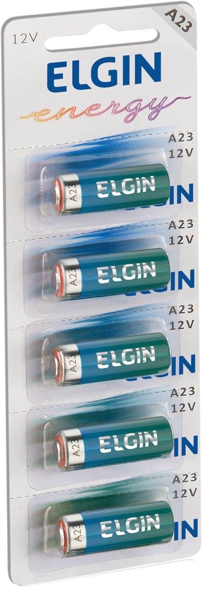 Bateria Alcalina A23 12V Cartela com 5 82195