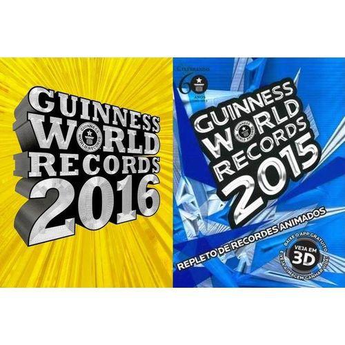 Box Guinness 2015 -2016 Novos  Lacrados            139780002963909