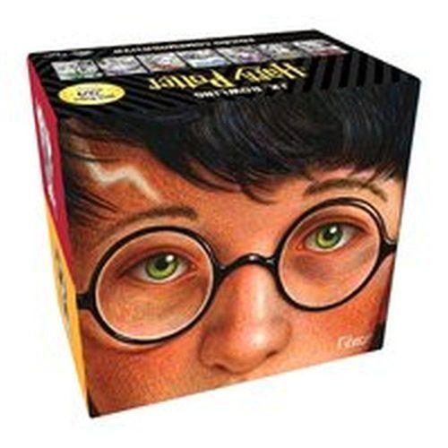 Box Harry Potter Edição Comemorativa 20 Anos capa dura de colecionador