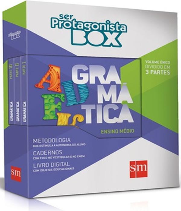 Box - SER Protagonista - Gramatica - em