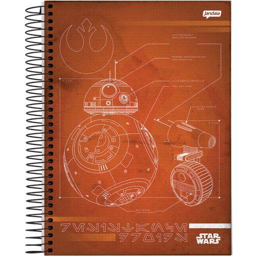 Caderno Espiral -Star Wars Trends  200 folh Linha 2020