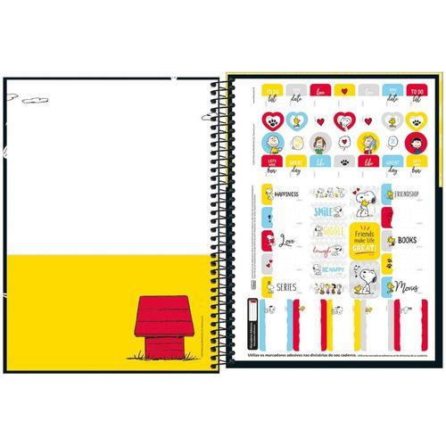 Caderno Universitário Snoopy 01 Matéria Tilibra II