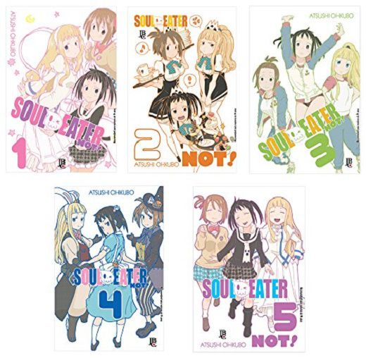 COLECAO SOUL EATER NOT 1 A 5 - JBC