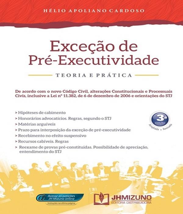 Excecao de PRE-EXECUTIVIDADE - 03 ED
