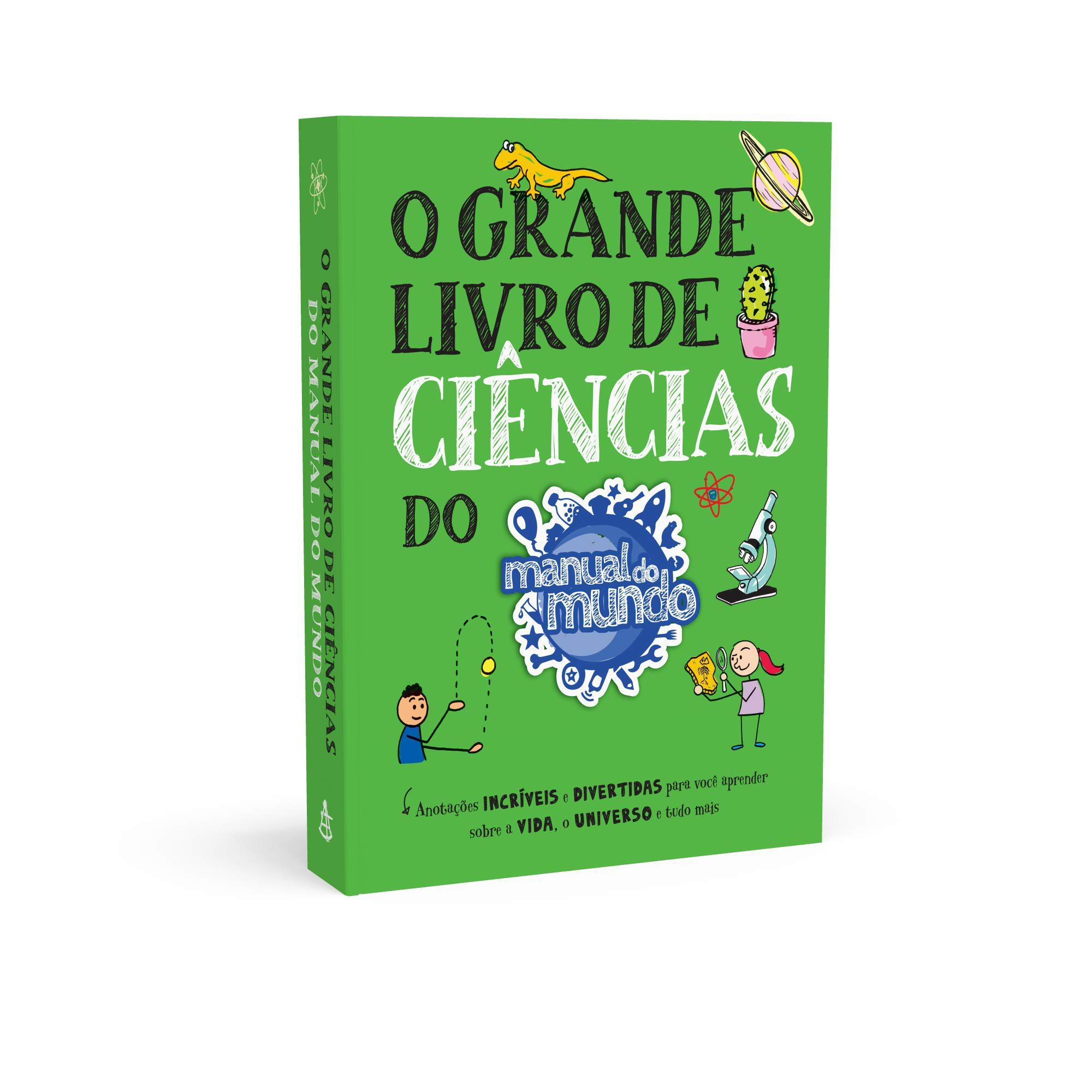 GRANDE LIVRO DE CIENCIAS DO MANUAL DO MUNDO, O - SEXTANTE