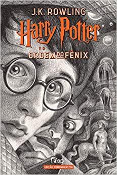 Harry Potter e a ORDEM da Fenix (capa Dura) - Edicao Comemorativa dos 20 ANOS da Colecao HARRY Potter